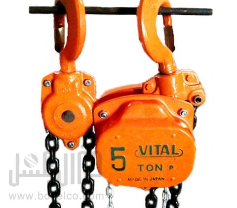 تعمیرات جرثقیل دستی ویتال VITAL