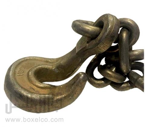 زنجیر 3 متری یک سر قلاب کج